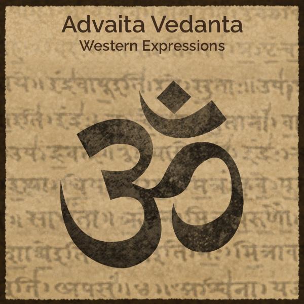 Advaita Vedanta: Western Expressions