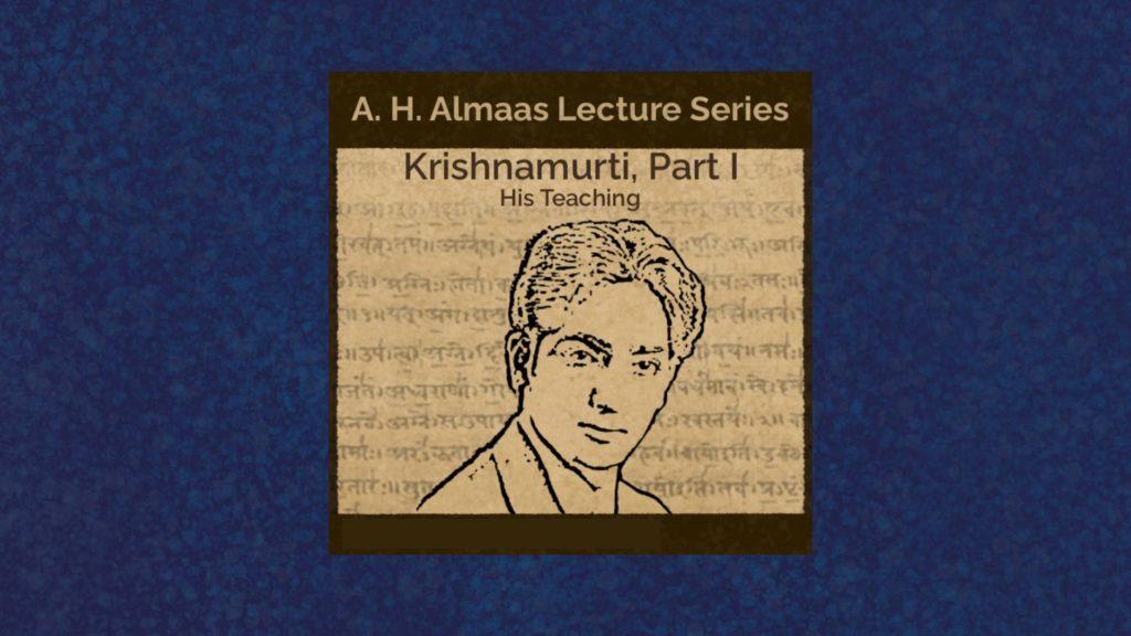 jiddu Krishnamurti teaching